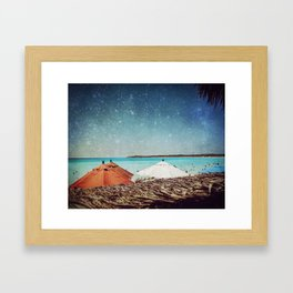 Triple Canopy Framed Art Print