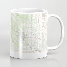 MI Midland 470899 1984 topographic map Coffee Mug