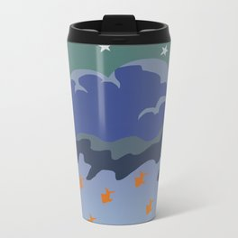 Stars and Fish Metal Travel Mug