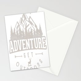 Adventure get Outdoor Stationery Cards