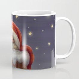 Little Santa in a chimney Coffee Mug
