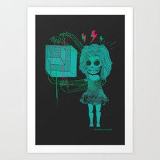 The Four-Armed Girl Art Print