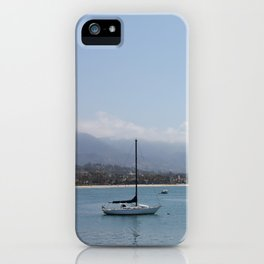 Off the Coast of the Habour iPhone Case