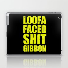 Loofa Faced Shit Gibbon Laptop & iPad Skin