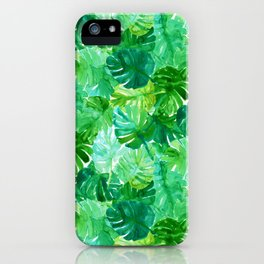 Welcome to the Jungle Palm iPhone Case