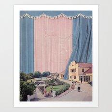 Pink quartz neighbourhood Art Print