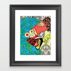 Animal Collective Framed Art Print