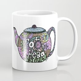 Tea Pot Head Coffee Mug