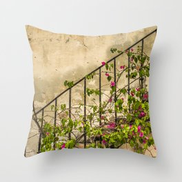 Going up or down? Throw Pillow