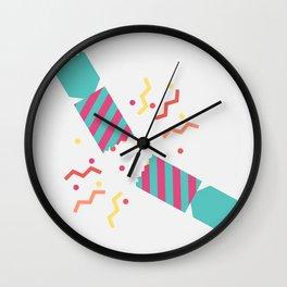 #50 Christmas Cracker Wall Clock