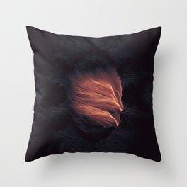 Shriek Throw Pillow