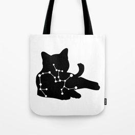 sagittarius cat Tote Bag