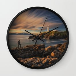 On The Rocky Outcrop Wall Clock