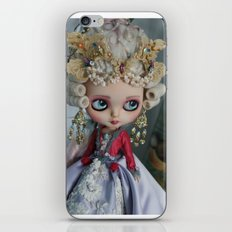 BAROQUE MARIE ANTOINETTE BLYTHE ART DOLL PINK iPhone & iPod Skin