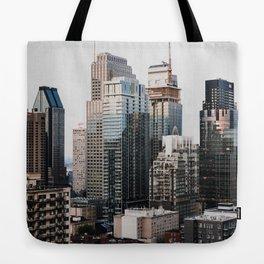 Montreal, Canada Tote Bag