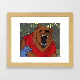 Oh, Bother..... Framed Art Print