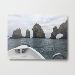 Boating Along the Archs Metal Print