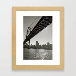 San Francisco Bridge Framed Art Print