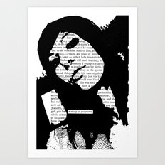 A Story of Your Own Art Print