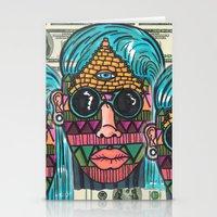 illuminati Stationery Cards featuring IllUmiNaTi by CREATOROFARTS