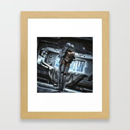 Sexy Sci-Fi 3 Framed Art Print