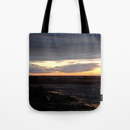 Sunset on the St-Lawrence Tote Bag