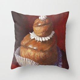 Religieuse café Throw Pillow