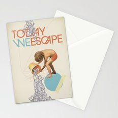 TODAY WE ESCAPE Stationery Cards