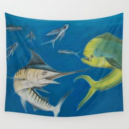 Food Chain Wall Tapestry