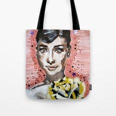 Audrey Hepburn 2 Tote Bag