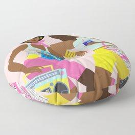 Roller Skaters Floor Pillow