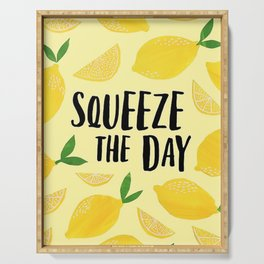 Squeeze the Day Pattern Serving Tray