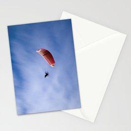 Motorized Paragliding Stationery Cards