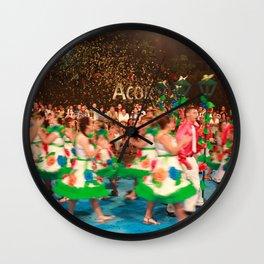 Sao Joao da Vila festival Wall Clock