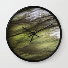 blurred perception of nature #2 Wall Clock