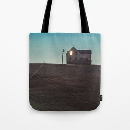 Leave a Light On Tote Bag