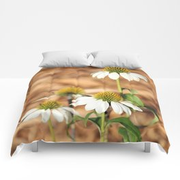 Last Of The Cone Flowers Comforters