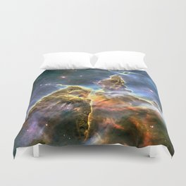 Space nebula Duvet Cover