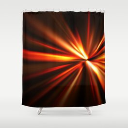 explosion of a star Shower Curtain