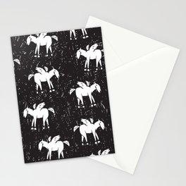 Pegasus Block Print Stationery Cards