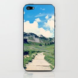 Up Mount Rainier iPhone Skin