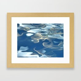 H2O # 27 Water abstract Framed Art Print