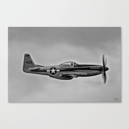 Royal Airforce Fighter Plane (Spitfire) Canvas Print