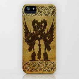 One Dragon iPhone Case