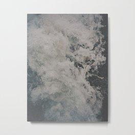 { raging sea } Metal Print
