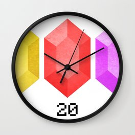 RUPEES Wall Clock