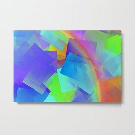 Sun, rain, and little rainbow ... Metal Print