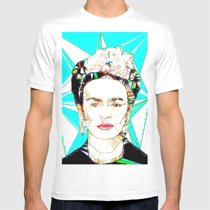 c2bdeed86 ICONS: Frida Kahlo T-shirt by leeandpeoples | Society6