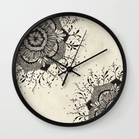 wonder Wall Clocks featuring Wonder by rskinner1122