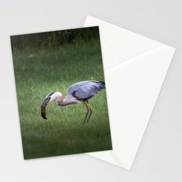 Hungry no more Stationery Cards